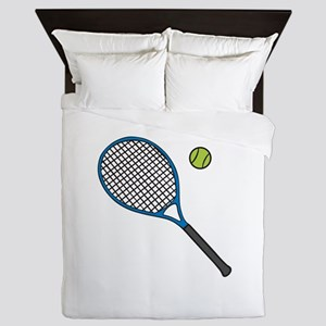 Racquet & Ball Queen Duvet