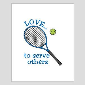 Tennis Serve Posters