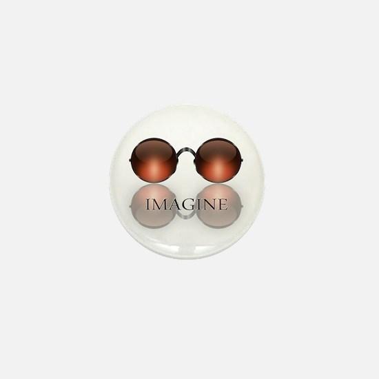 Cute Hippie symbols Mini Button
