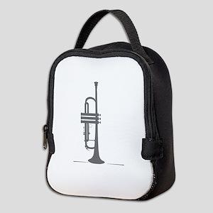Upright Trumpet Neoprene Lunch Bag
