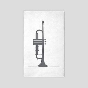 Upright Trumpet 3'x5' Area Rug