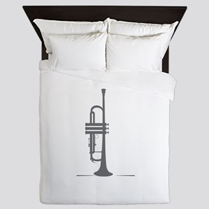 Upright Trumpet Queen Duvet