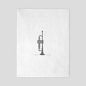 Upright Trumpet Twin Duvet