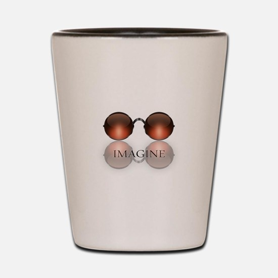 Funny Hippies Shot Glass