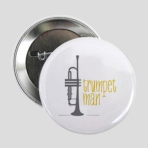 """Trumpet Man 2.25"""" Button"""