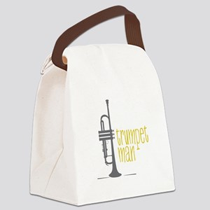 Trumpet Man Canvas Lunch Bag