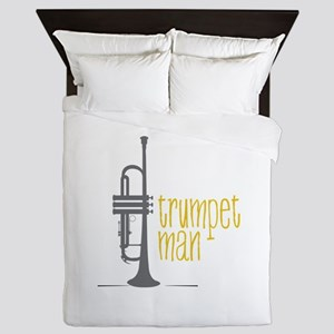 Trumpet Man Queen Duvet