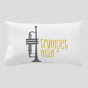 Trumpet Man Pillow Case