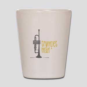 Trumpet Man Shot Glass