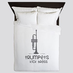 Trumpets Kick Brass Queen Duvet