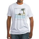 Socks on the Beach Fitted T-Shirt