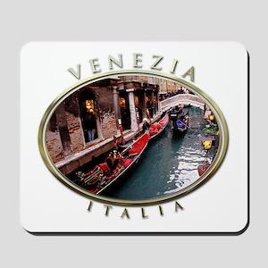 Gondolas in Venice Mousepad