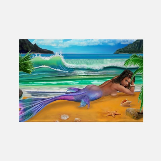 ENCHANTED MERMAID Rectangle Magnet
