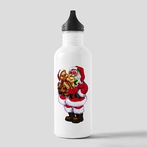 Santa Claus 3 Water Bottle