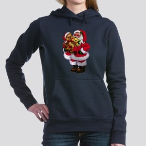Santa Claus 3 Women's Hooded Sweatshirt