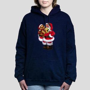 Santa Claus 3 Women's Hooded Sweatshirt