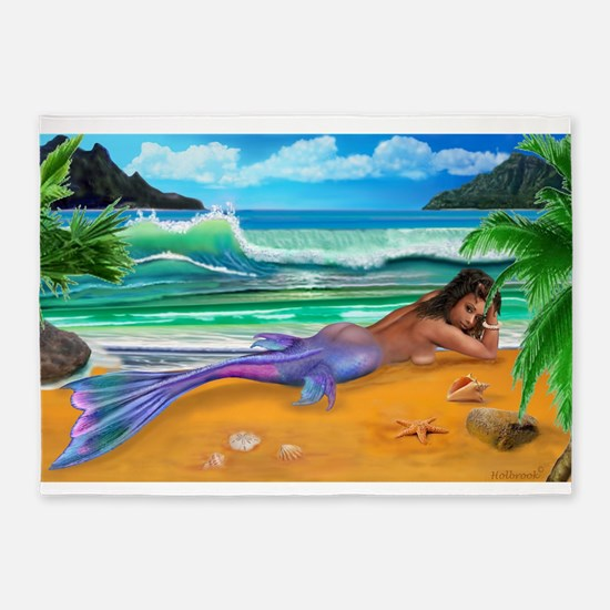 ENCHANTED MERMAID 5'x7'Area Rug
