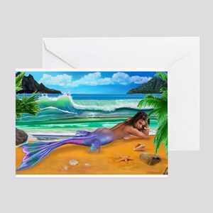 ENCHANTED MERMAID Greeting Cards