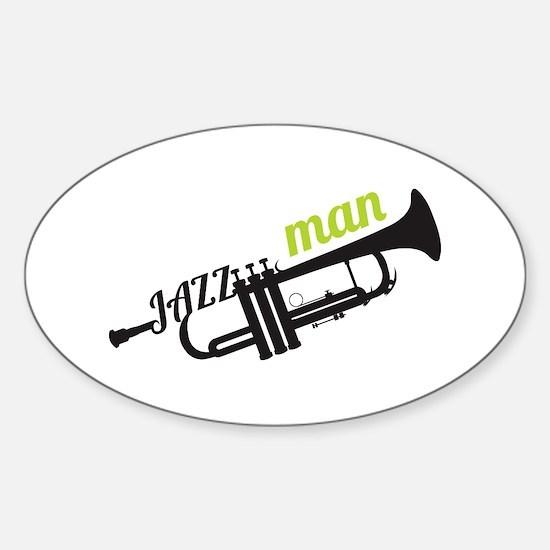 Jazz Man Decal