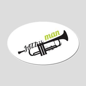 Jazz Man Wall Decal