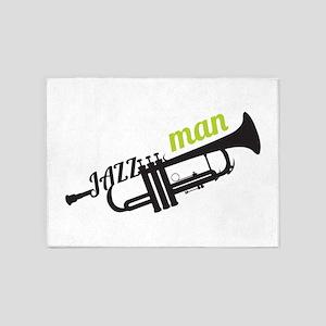 Jazz Man 5'x7'Area Rug
