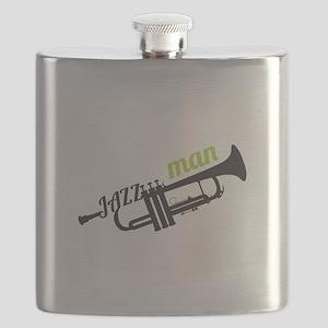 Jazz Man Flask