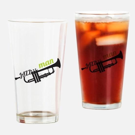 Jazz Man Drinking Glass