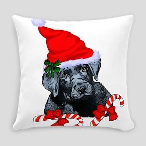 Black Labrador Retriever Christ,as Everyday Pillow