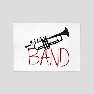 Jazz Band 5'x7'Area Rug