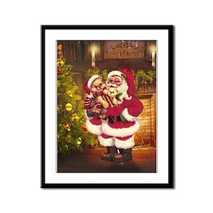 Santa Claus 3 Framed Panel Print