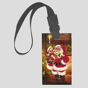 Santa Claus 3 Luggage Tag