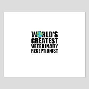 World's Greatest Veterinary Receptionist Poste