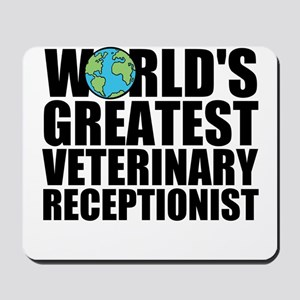 World's Greatest Veterinary Receptionist Mouse