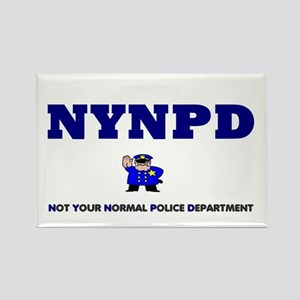 NYNPD - NOT YOUR NORMAL POLICE DEPARTMENT Magnets
