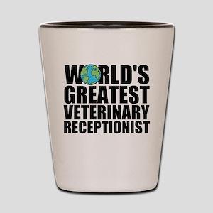 World's Greatest Veterinary Receptionist Shot