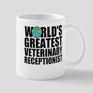 World's Greatest Veterinary Receptionist Mugs