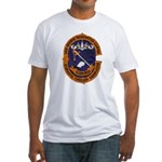 USS GEORGE WASHINGTON CARVER Fitted T-Shirt