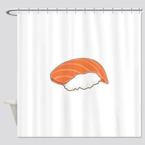 Salmon Sushi Shower Curtain