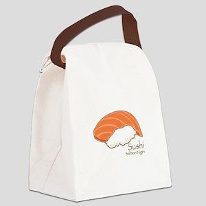 Salmon Nilgiri Canvas Lunch Bag