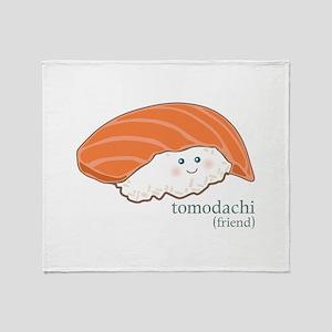 Tomodachi Throw Blanket