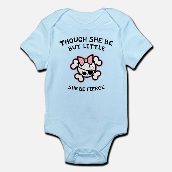 She Be Fierce Infant Bodysuit