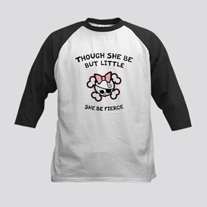 She Be Fierce Kids Baseball Jersey