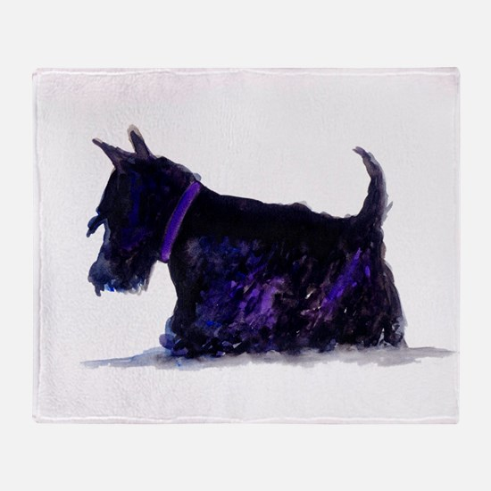 Cute Scottie Throw Blanket