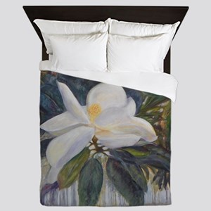 OLD FLORIDA MAGNOLIA Queen Duvet