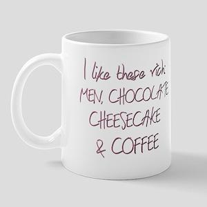 Rich men humor Mug