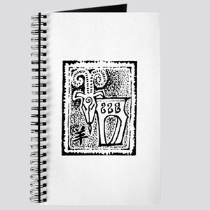 Abstract Chinese Zodiac Sheep Ram Journal