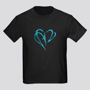 Heart Skewer Kids Dark T-Shirt