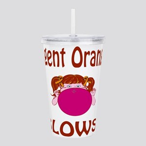 Agent Orange Blows! Acrylic Double-wall Tumbler