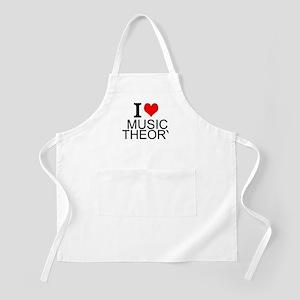 I Love Music Theory Apron