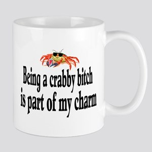 """Crabby Bitch"" Mug Mugs"